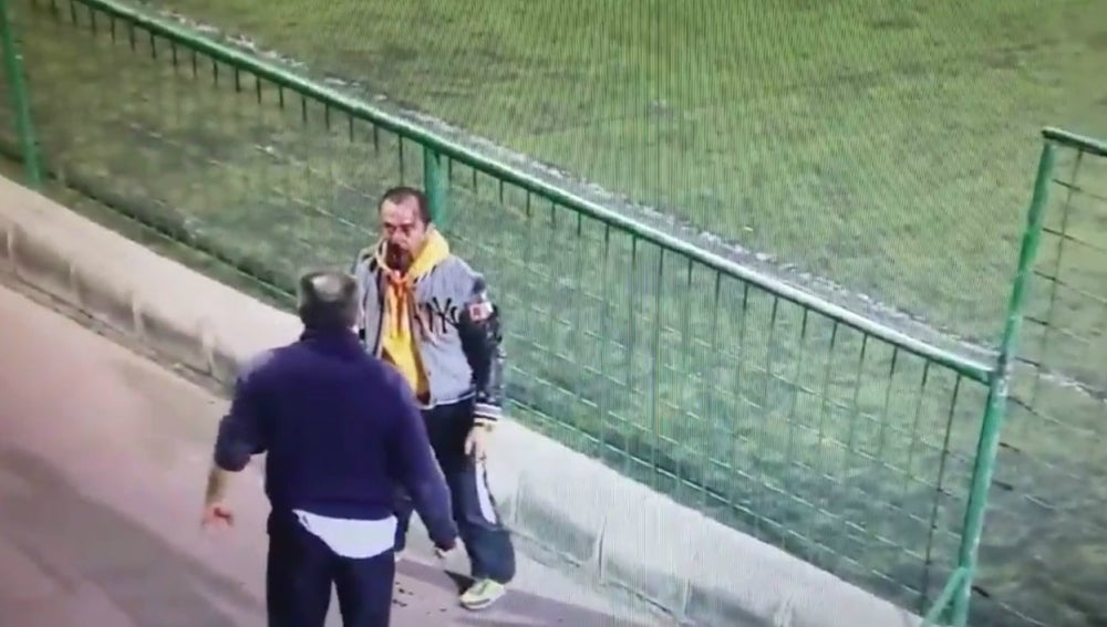 Pelea entre dos padres en el fútbol juvenil canario