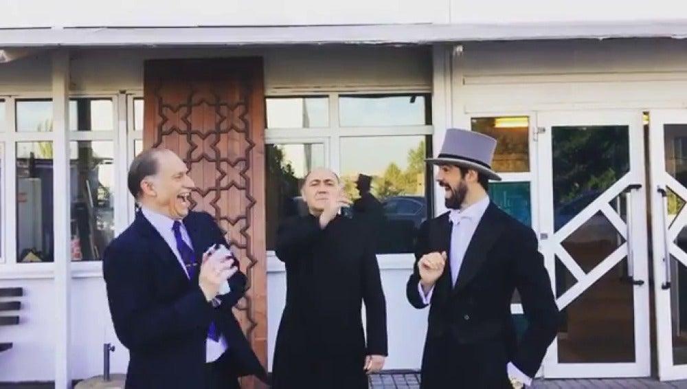 Miguel Ángel Muñoz nos descubre lo que no se vio en la boda de Alonso y Marta