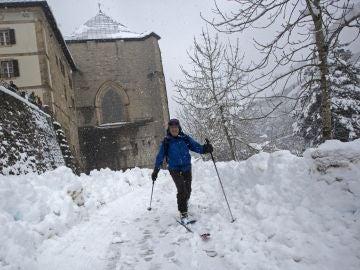 Temporal de nieve en el norte de España