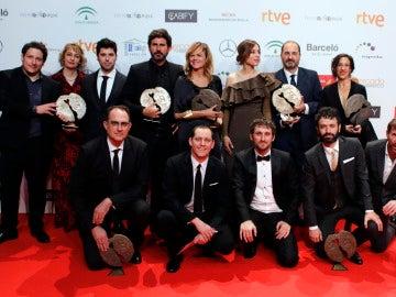 Ganadores en los Premios Forqué 2017