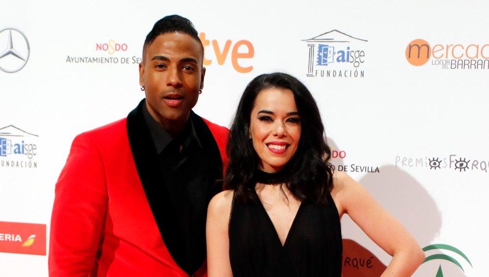 Beatriz Luengo y su pareja Yotuel Romero