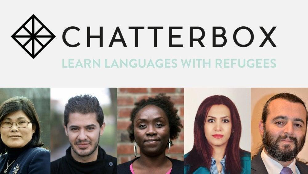 Decenas de refugiados dan clase de idiomas en la Universidad de Londres