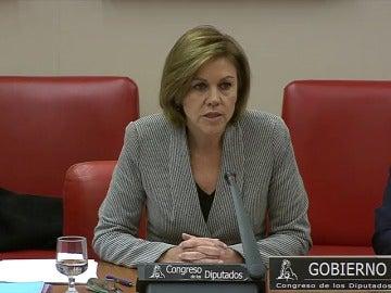 """Frame 0.0 de: Cospedal pide """"perdón en nombre del Estado"""" por el accidente del Yak-42"""