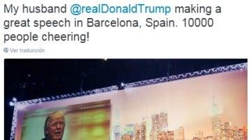Convención de Trump en Barcelona