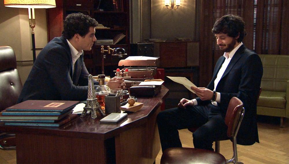 """Rafael a Jaime: """"Alba no puede enterarse"""""""