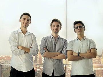 Pablo Manuel Vidarte, Rafael Rebollo y Javier Rodríguez