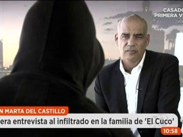 """Frame 293.697777 de: Declara ante el juez el infiltrado en la familia del Cuco: """"Quería que dieran una paliza a los padres y al abuelo de Marta del Castillo"""""""