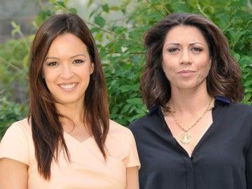 Verónica Sánchez y Alicia Borrachero