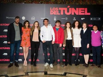 Los protagonistas de 'Los del túnel'