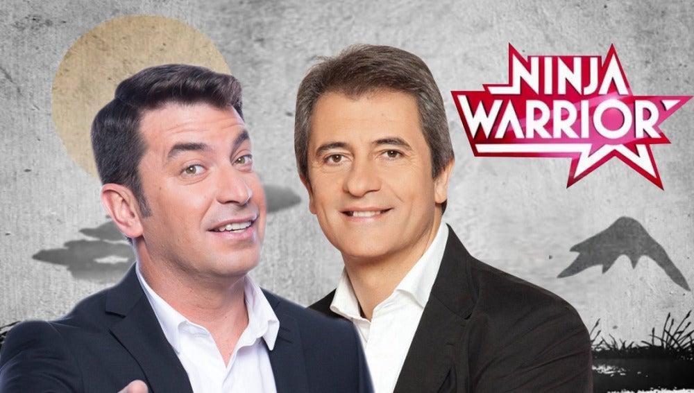Arturo Valls y Manolo Lama presentarán 'Ninja Warrior'