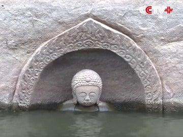 Hallan un Buda en un embalse chino