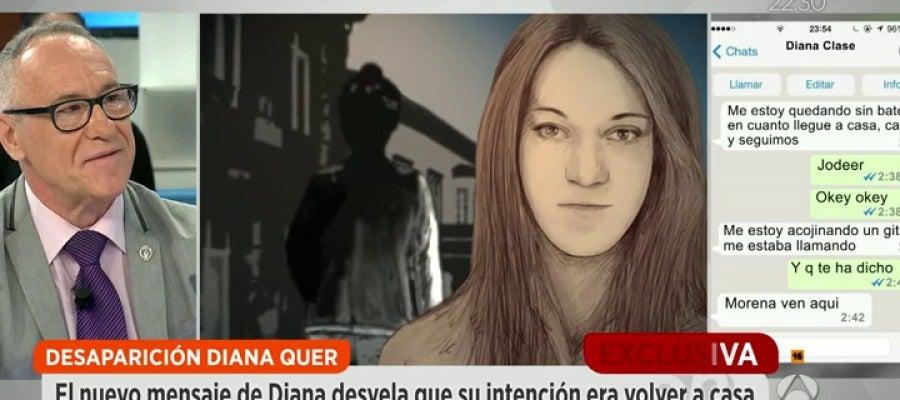 Antena 3 tv un nuevo mensaje del m vil de diana quer for Espejo publico diana quer