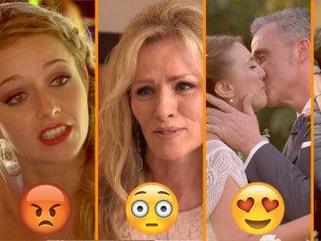 Una madre disgustada, una desubicada luna de miel y una boda llena de críticas