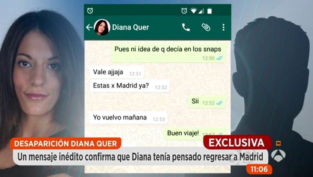 Antena 3 tv nuevos mensajes de diana quer con un amigo for Espejo publico diana quer
