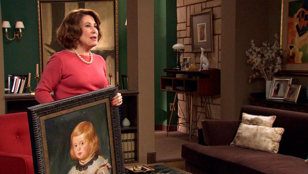 Ana María roba los cuadros de la casa de Alonso y Marta