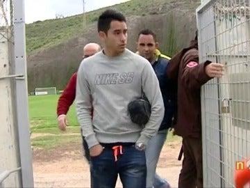 Sergio Araujo, jugador de la UD Las Palmas