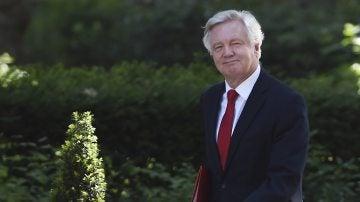 David Davis, ministro británico para la salida del Reino Unido de la Unión Europea