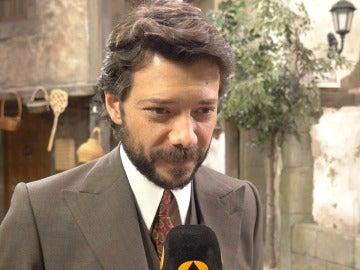 """Álvaro Morte: """"Nunca se sabe, quizás Lucas vuelva a Puente Viejo"""""""