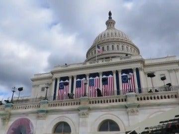 Frame 10.696305 de: El discurso de investidura de Trump en el Capitolio será breve y escrito por él