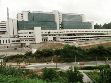 Planta de tratamiento de residuos situada en Lousame