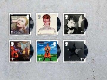 Sellos David Bowie