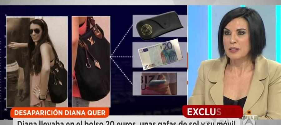 Antena 3 tv espejo p blico revela qu llevaba diana quer en su bolso la noche de su desaparici n - Espejo publico hoy ...