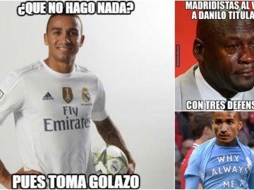 'Memes' de Danilo en el Celta-Real Madrid
