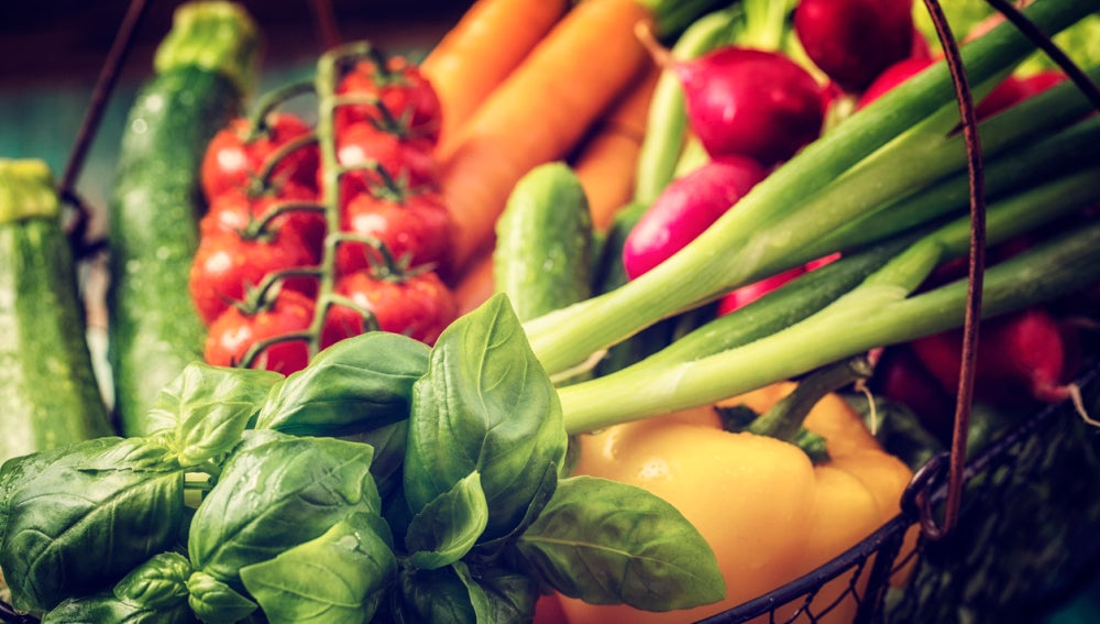 Verduras saciantes