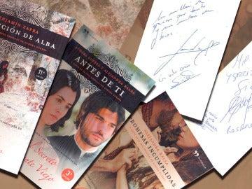 ¡Consigue un libro firmado por los actores de Puente Viejo!