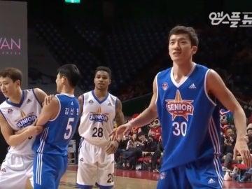 Mannequin Challenge en pleno partido del All Star coreano