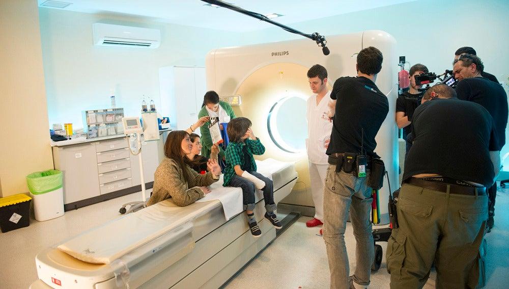 El rodaje de 'Pulsaciones' tras las cámaras