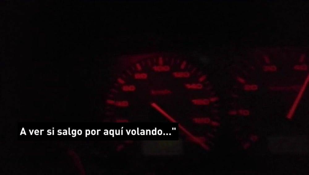 Frame 21.487538 de: Detenido en Jaén por grabarse conduciendo a 200 kilómetros por hora