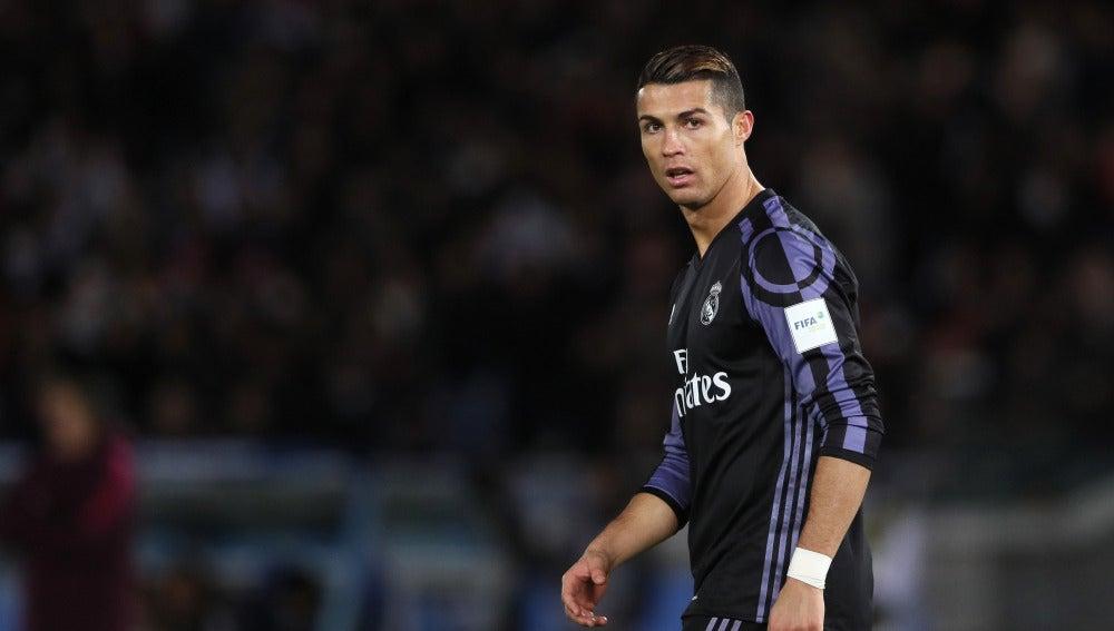 Cristiano Ronaldo, en un partido contra el Real Madrid