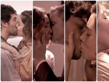 Los besos de amor que han marcado Puente Viejo