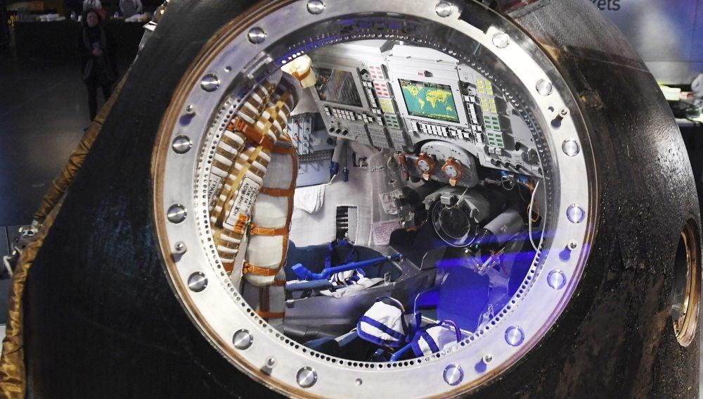 Interior De Ventana De Nave Espacial: Las Primeras Naves Que Viajarán A Marte