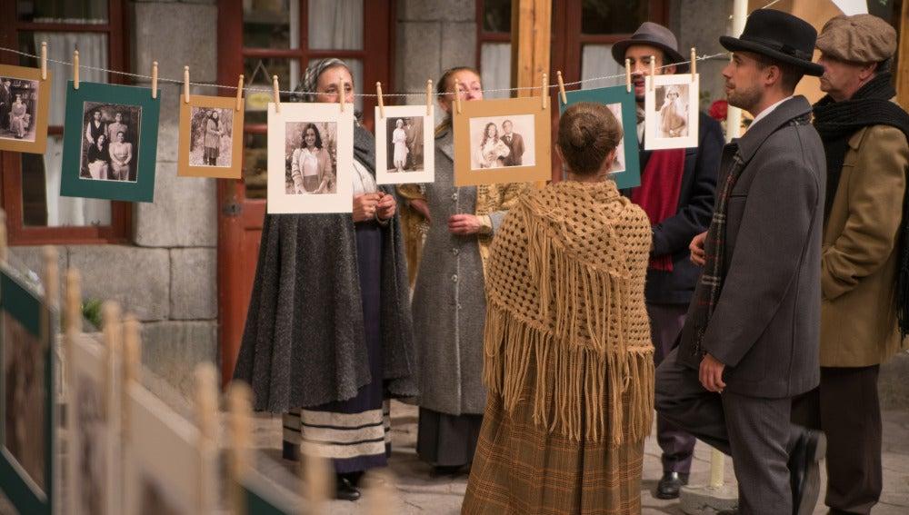 La exposición de fotografías que logró emocionar a todo el pueblo