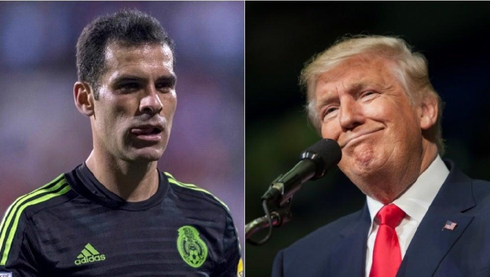 Rafa Márquez y Donald Trump
