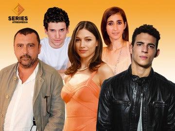 Úrsula Corberó, Paco Tous o Álvaro Morte protagonizan 'La casa de papel'