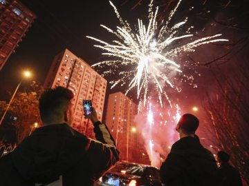 Celebración del Año Nuevo en China