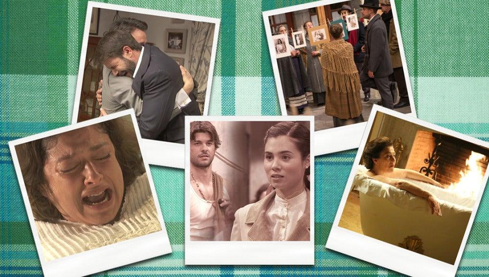 Pasión, tristeza y recuerdos en la semana de los 1.500 capítulos de Puente Viejo