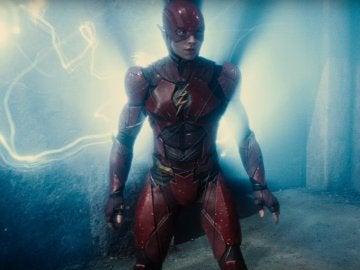 Ezra Miller como Flash en 'La Liga de la Justicia'