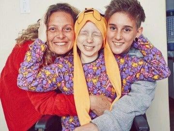 Lorena ha superado el cáncer
