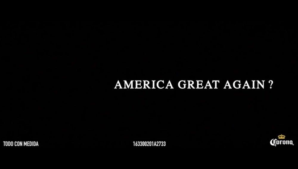 El anuncio de la cerveza Corona contra el muro de Trump y la unión de América