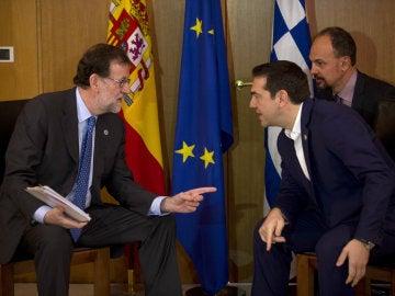 Mariano Rajoy y Alexis Tsipras