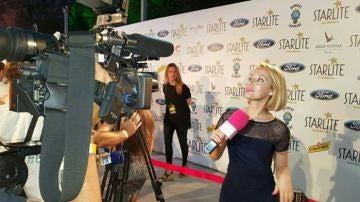 Reportera del programa 'Vaya Tela' en Canal Sur