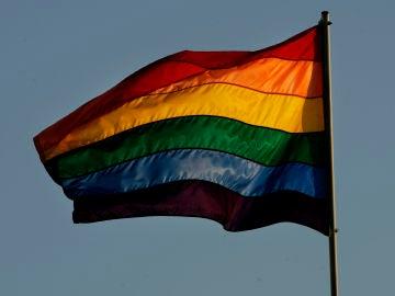Imagen de archivo de una bandera LGTBI