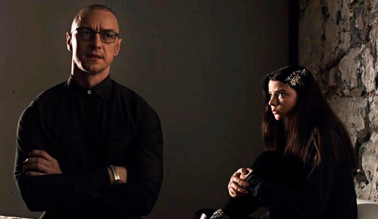 James McAvoy y Anya Taylor-Joy en 'Múltiple'