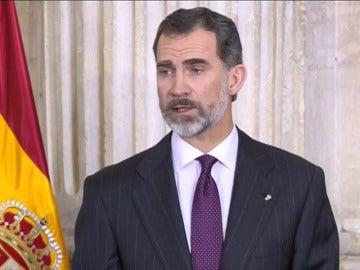 Frame 7.280547 de: El Rey defiende el dialogo y la libertad como valores de Cervantes para lograr una fructífera convivencia