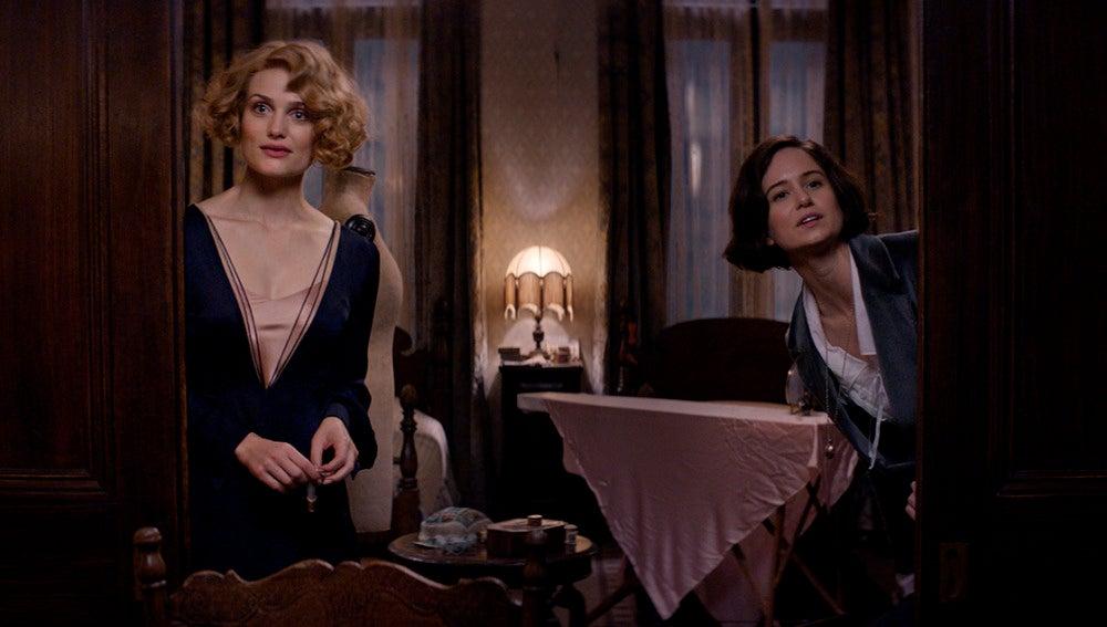 Queenie y Tina en 'Animales fantásticos y dónde encontrarlos'