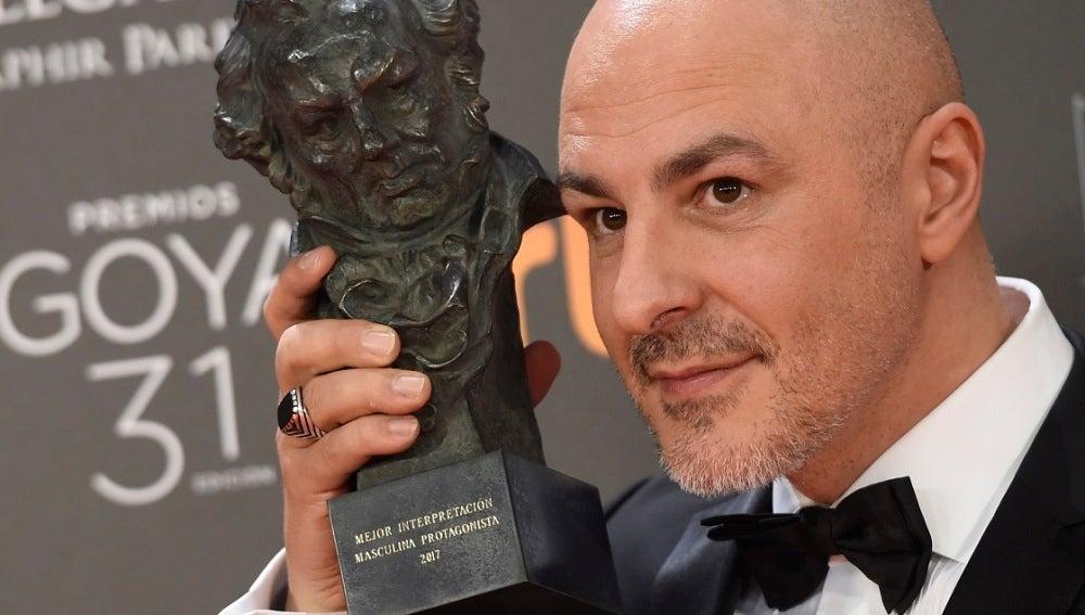 Roberto Álamo, Mejor Actor Protagonista por 'Que Dios Nos Perdone'